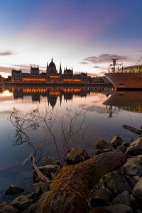 The Danube in Hungary